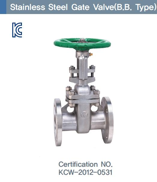 Stainless Steel Gate Valve (B.B type)