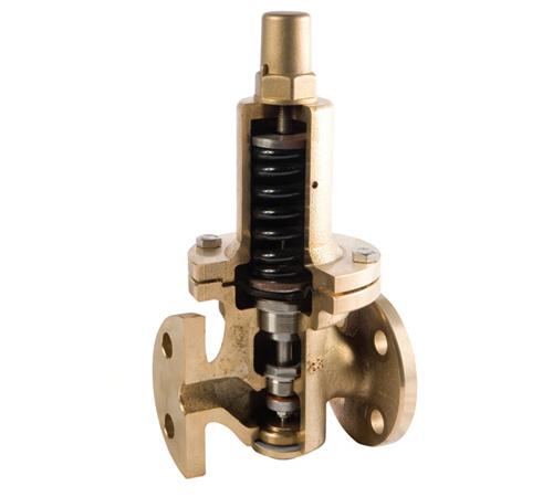 Van giảm áp cho khí, nước DRE-1F/2F